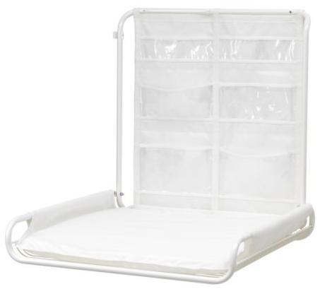 Ikea e momichan fasciatoi for Fasciatoio parete ikea