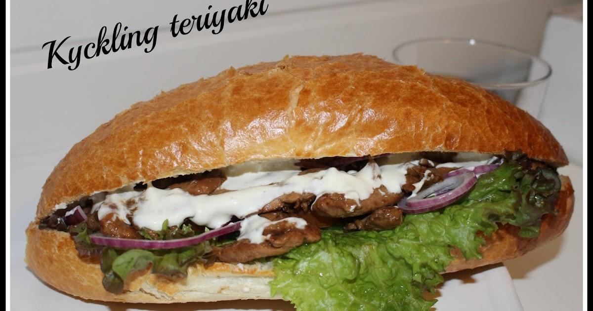 kyckling med teriyaki