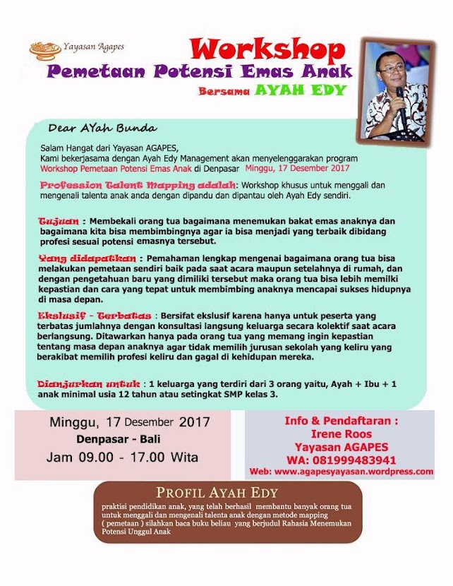 WORKSHOP DI BALI 17 Desember 2017