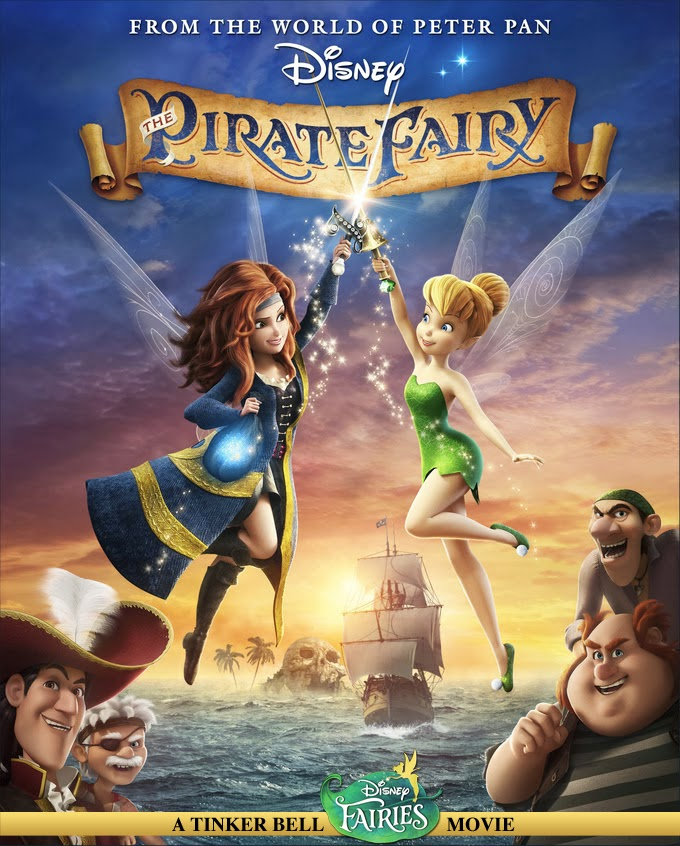 Movie Tinker Bell And The Pirate Fairy (2014) BluRay 720p
