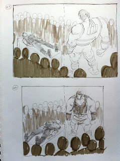 Making of a cover: TALON #7