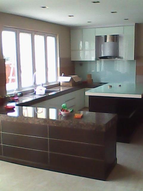 Jp design kitchen cabinet in damansara klang valley for Kitchen decoration malaysia