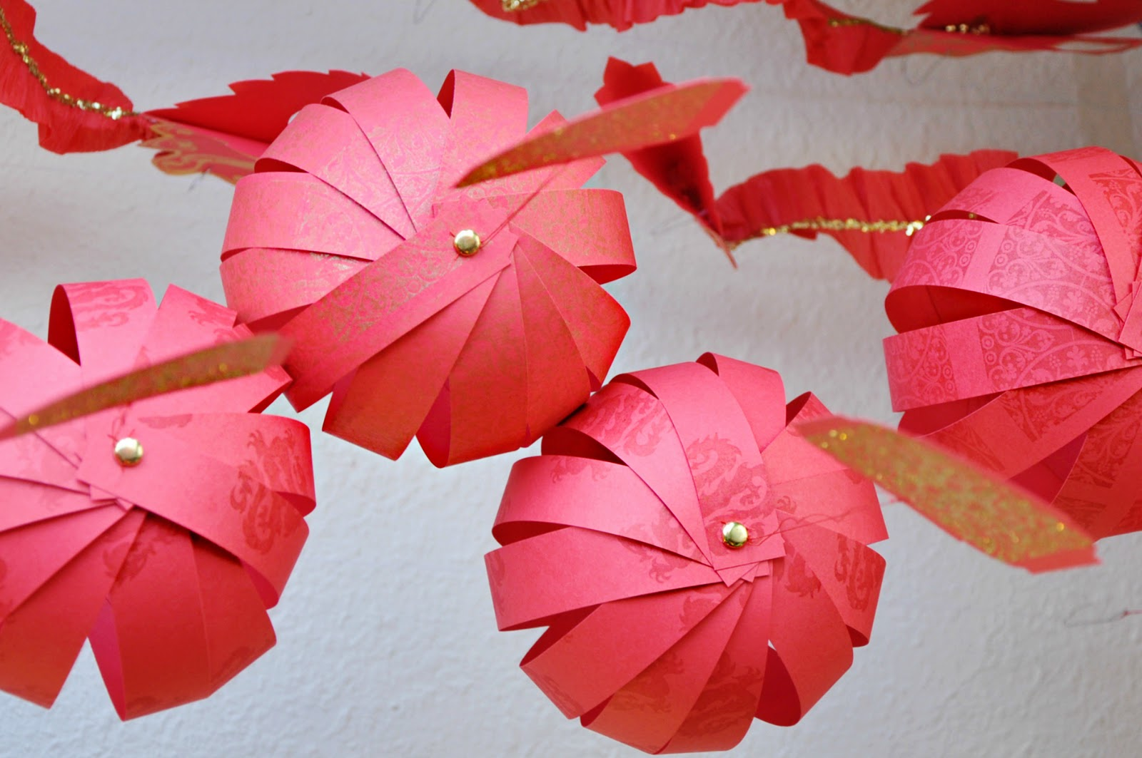 I need a craft room firecrackers paper lanterns for How to make paper lamp step by step