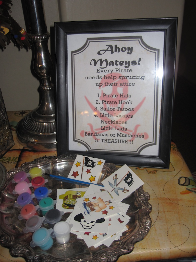 photograph relating to Pirate Party Printable identified as Pirate Social gathering with Cost-free Printables