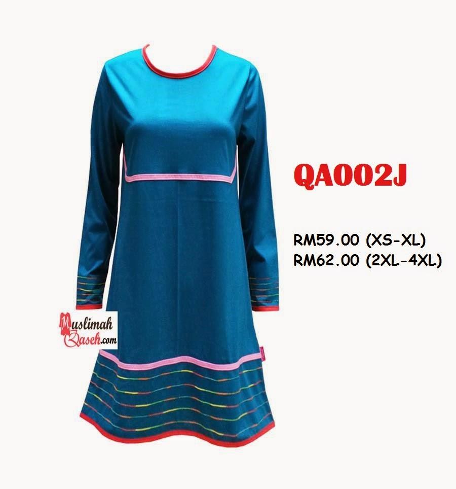 T-Shirt-Muslimah-Qaseh-QA002J