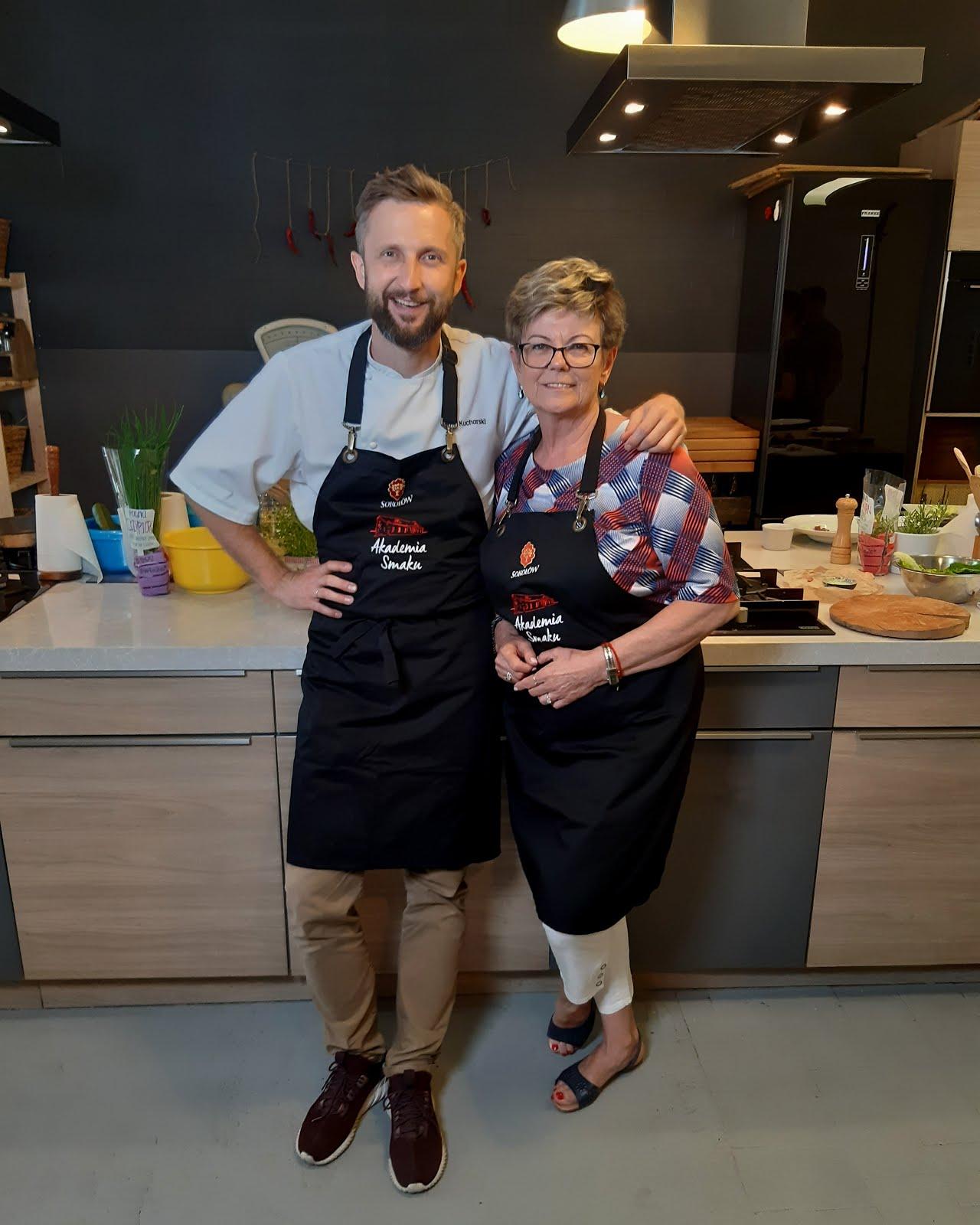 Mój udział w warsztatach kulinarnych Akademii Smaku Sokołów