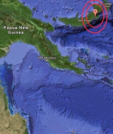 Magnitude 5.0 Earthquake of Kokopo, Papua New Guinea 2014-10-12