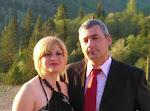 Viorica-Elena cu sotul sau, Lucian Fluturu  la Bucuresti.....