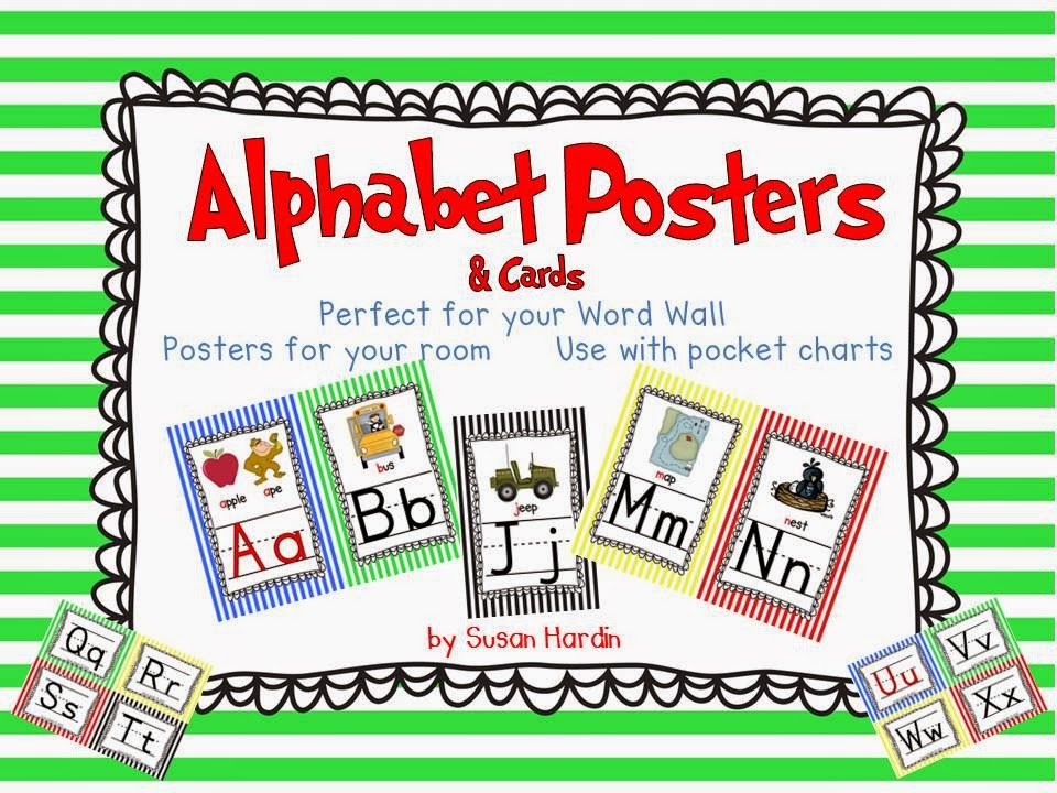 http://www.teacherspayteachers.com/Product/Alphabet-Posters-full-half-and-Cards-Primary-Stripes-Theme-1285790