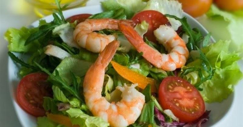 Вкусные салаты с креветками с фотографиями