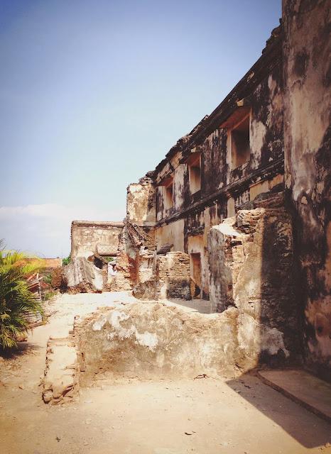 Ruins of Yogyakarta Taman Sari (Water Castle)