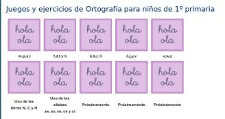 http://www.mundoprimaria.com/juegos-lenguaje/juegos-ejercicios-ortografia-1o-primaria