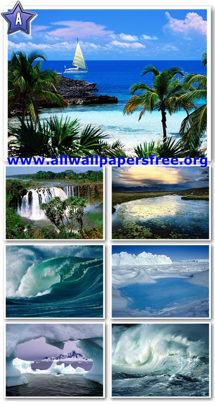 120 Beautiful Waterscapes Wallpapers 1600 X 1200