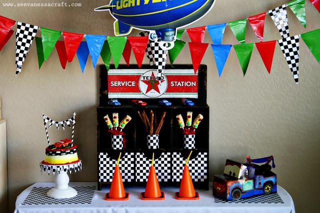 Disney Cars treats, Disney Cars Party food, traffic light treats, #DreamParty