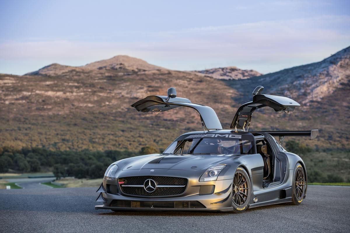 Mercedes benz sls amg gt3 45th anniversary edition 2013 for 2013 mercedes benz sls