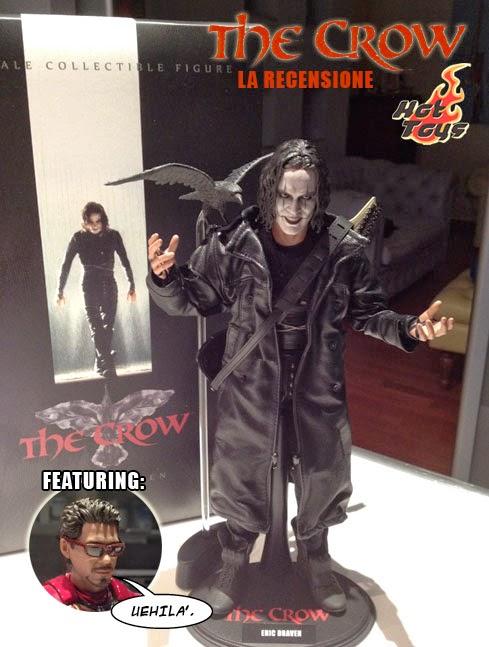 Il Corvo The Crow Hot Toys recensione