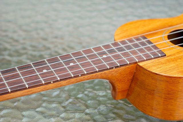Kiwaya KS5 Soprano fingerboard