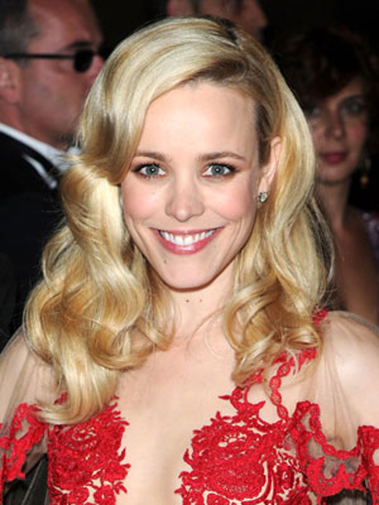 Popular Celebrity Curly Hairstyles Rachel McAdams