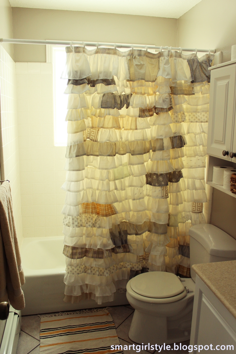Diy ruffled shower curtain - Diy Ruffled Shower Curtain 36