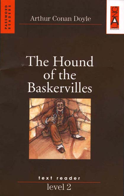 """The Hound of The Bastervilles"" Book Cover and Intereior Illustration"