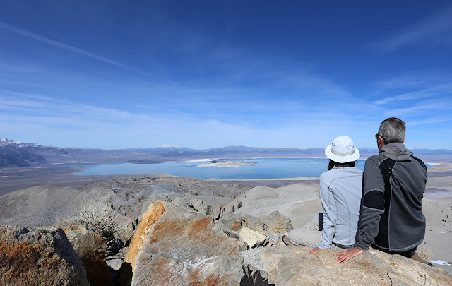 View of Mono Lake