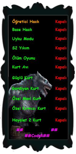 Wolfteam Aeria Vip Botu 19.02.2013 Güclü Kurt Hilesi indir