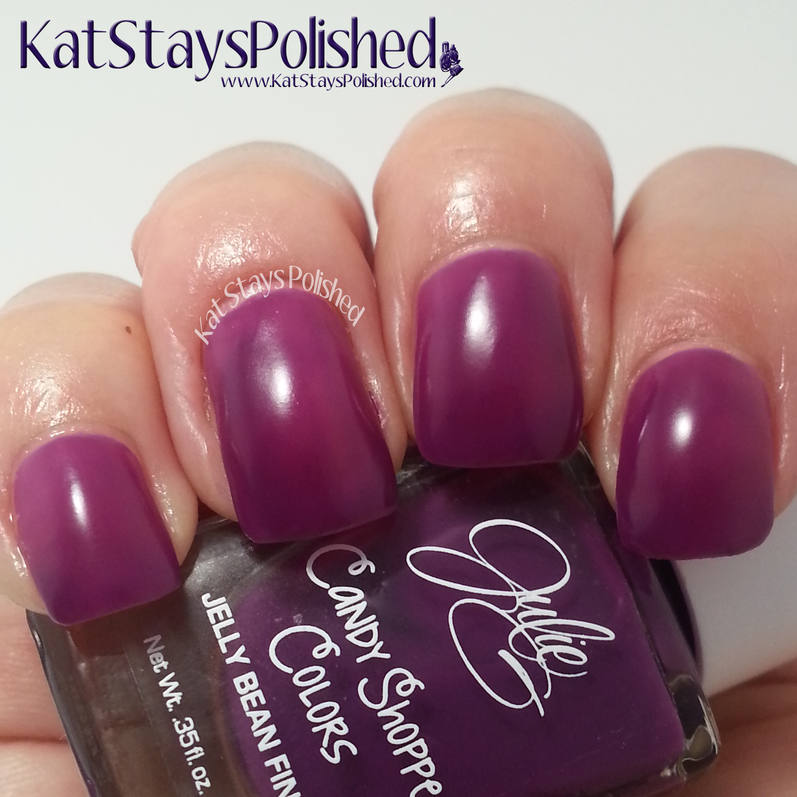 JulieG Candy Shoppe Colors - Lollipop | Kat Stays Polished