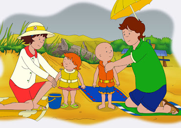 #6 Caillou Wallpaper