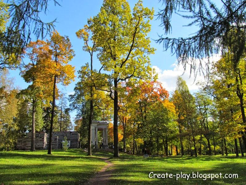 Золотая осень Гатчинский парк