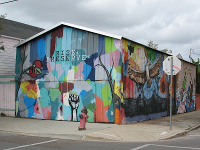 Rise & Preserve NO Mural