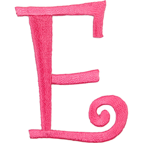 Free pink letter e coloring pages