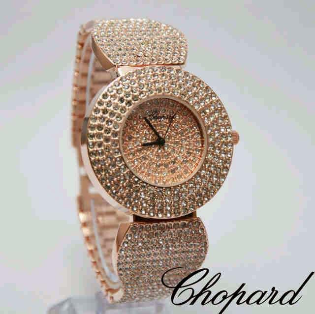 Chopard Full Diamonds rosegold