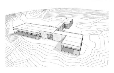 Modern modular home perspective Utah