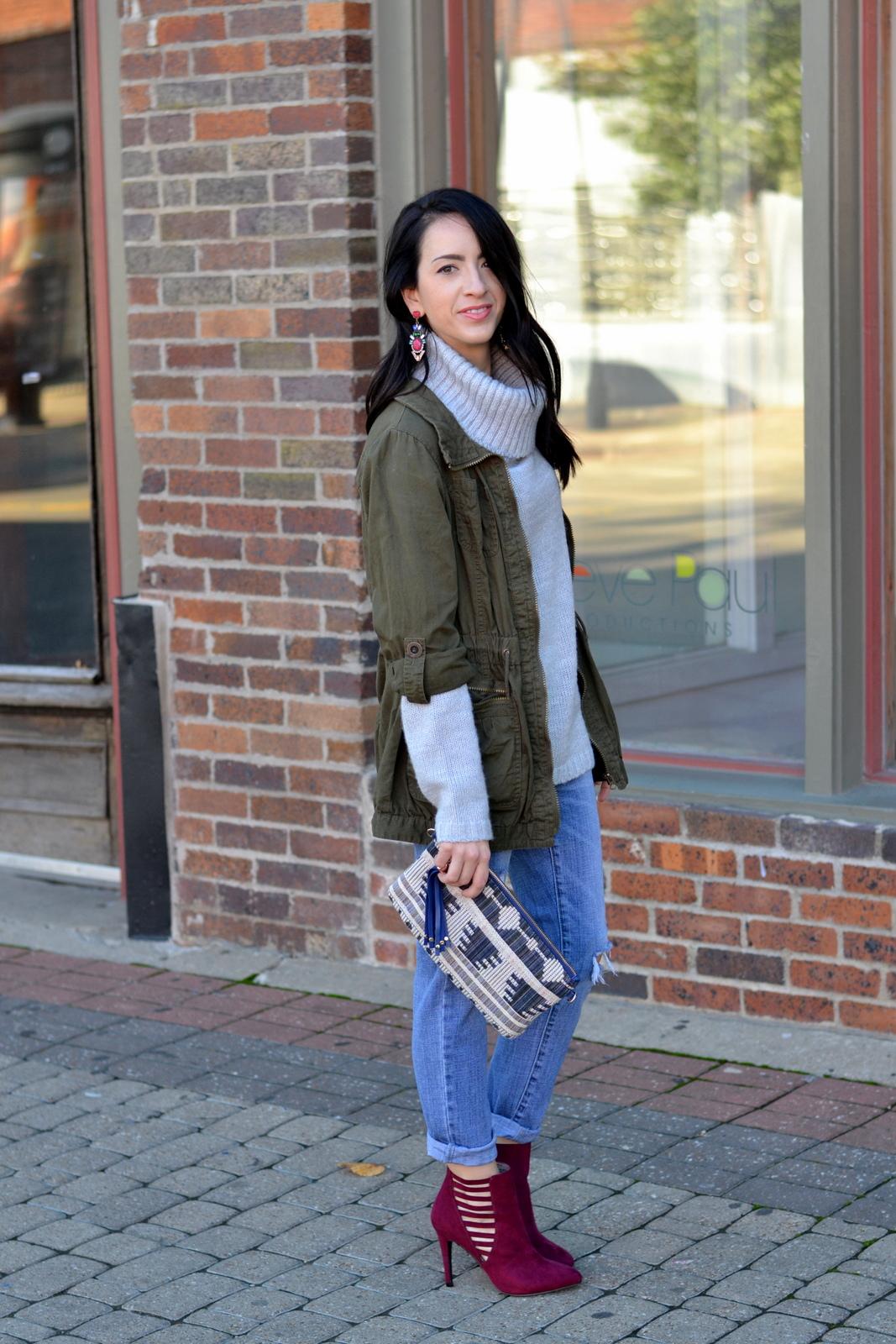 Fall Sweater_Olive Jacket