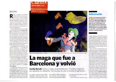 Crítica del diario Clarín