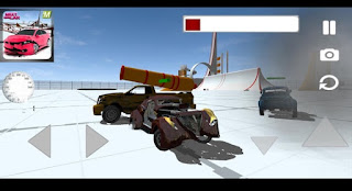 Screenshots of the Next Gen Car for Android tablet, phone.