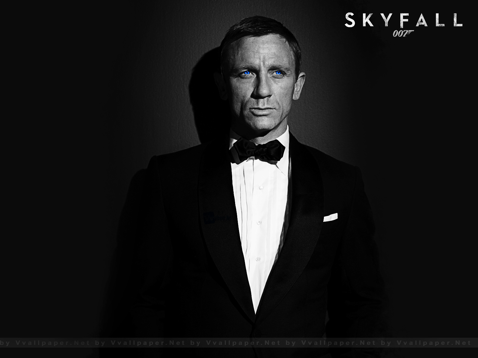 Skyfall 007 movie daniel craig selective color hd wallpaper