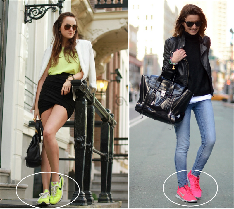 Outfits Con Jeans Y Tenis Deportivos