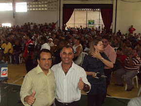 Sgt. Ricardo e o deputado Major Fabio apoia a Assembléia Geral dos PMs e BMs da Paraíba em 2010