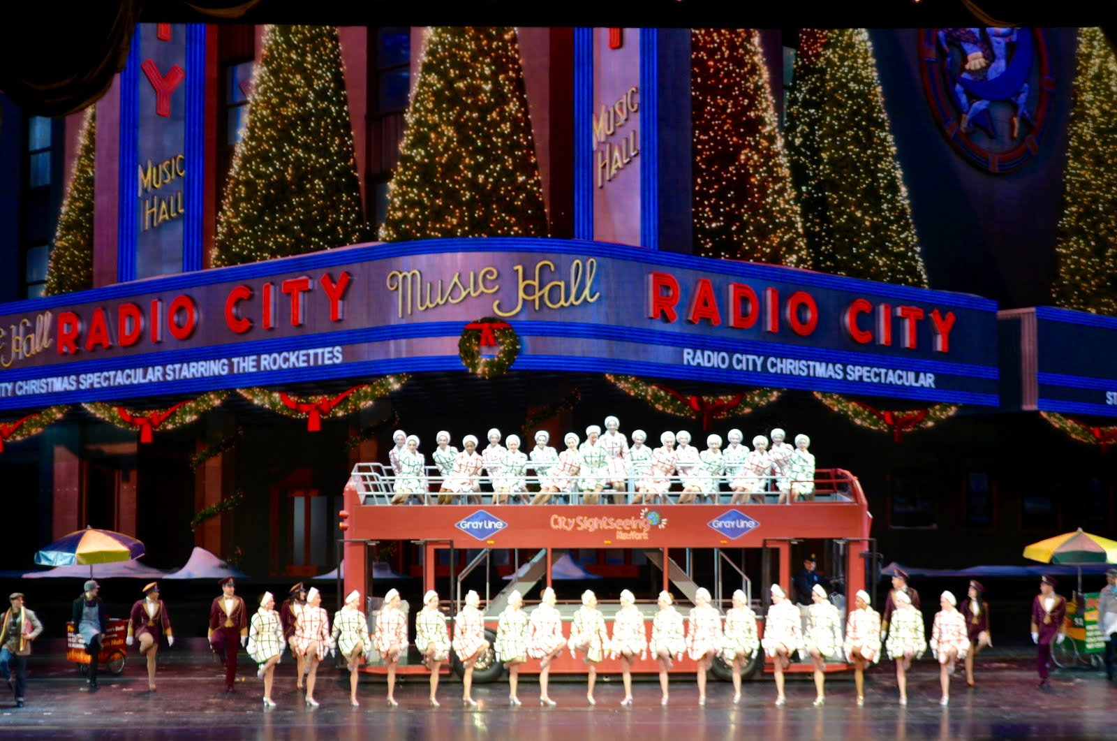 It's All About Purple: The Radio City Music Hall Christmas Spectacular