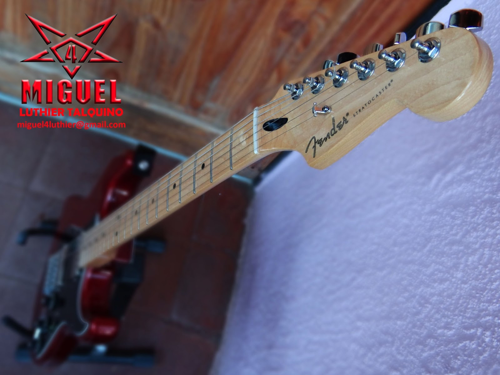 Luthier miguel4 talca guitarra electrica fender for Luthier guitarra electrica