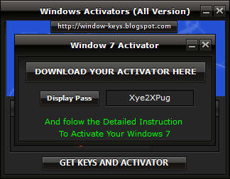 product keygen windows 7 ultimate