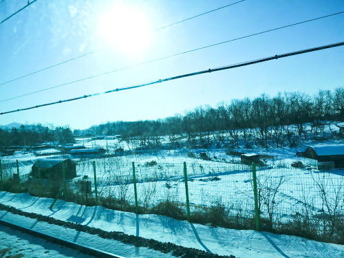Snow Scenery in Incheon