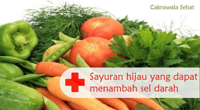 Sayuran Untuk Penderita Anemia