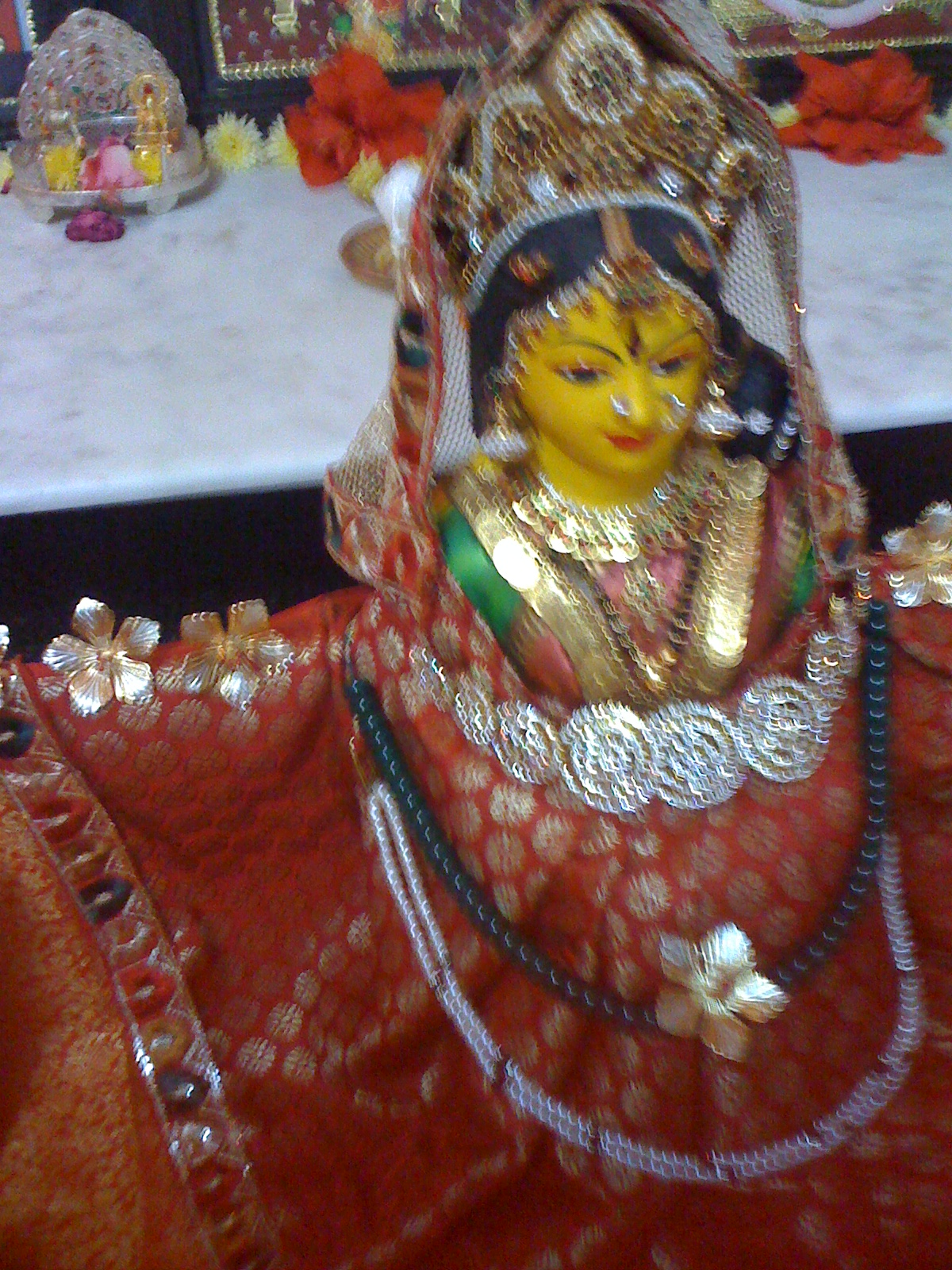Pooja decorations navarathri pooja decoration for 7p decoration