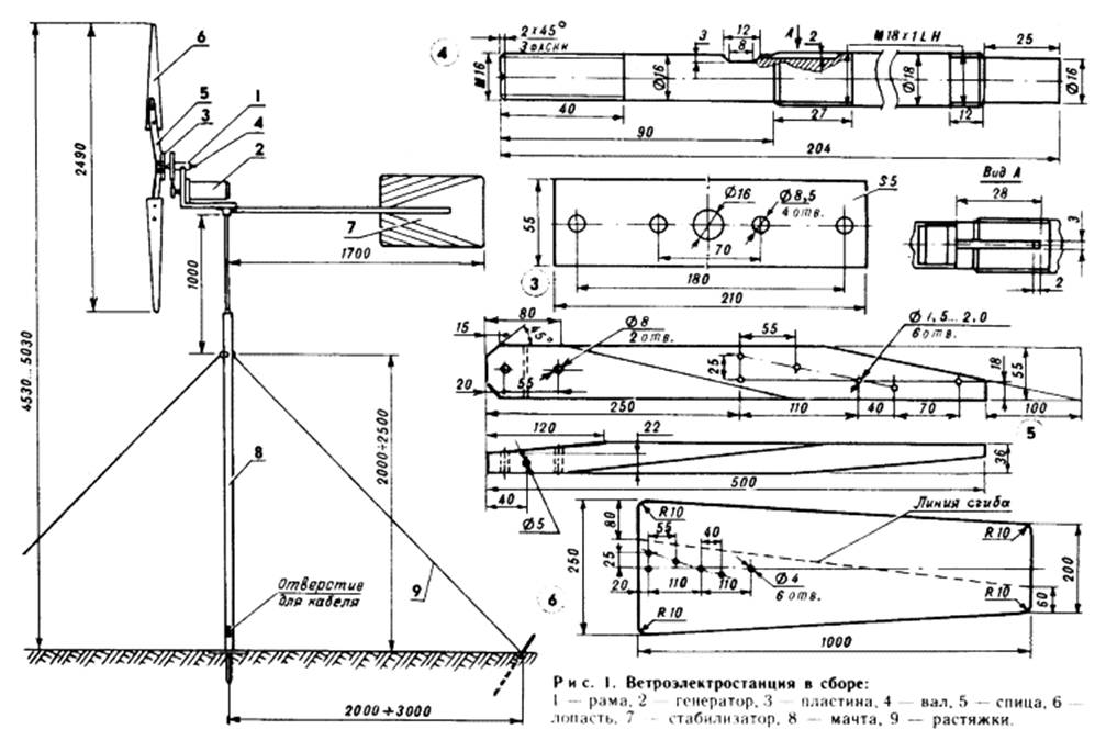 Ветряные генераторы схема схемы