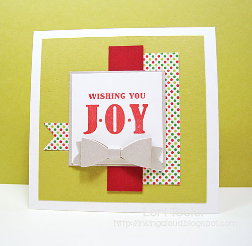 Wishing You Joy card-designed by Lori Tecler/Inking Aloud-stamps and dies from Clear and Simple Stamps