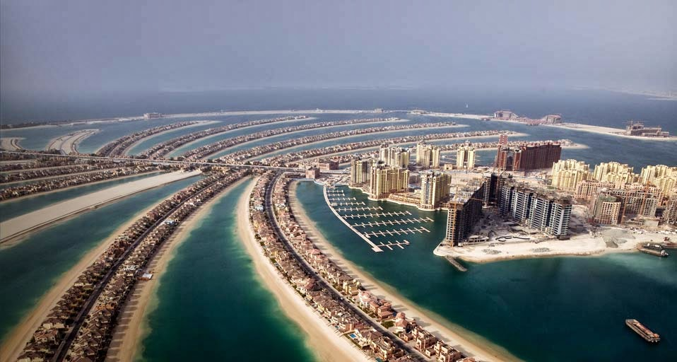 Download this Palm Island Dubai picture
