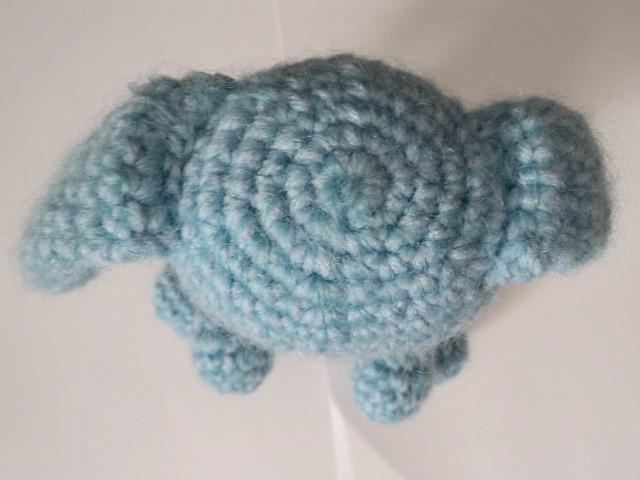 Amigurumi To Go Magic Circle : Baby Bunny Leeloo Free Crochet Pattern ~ Amigurumi To Go