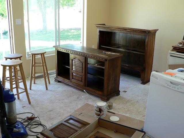 Paint Furniture - light sanding